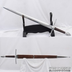 """Lord of the Rings Strider's Ranger Sword Hand Forged 1095 Steel European 28"""" Straight Blade Broadsword"""