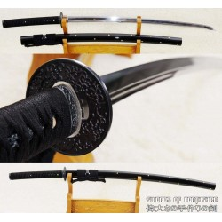 Hand Forged High Quality Chinese Tamahagane Differentially Hardened Katana Sword