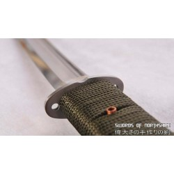 Hand Forged 1095 High Carbon Steel Tactical Outdoor Field Survival Wakizashi