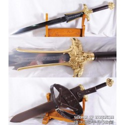 Hand Forged 1095 High Carbon Steel Fully Functional Conan the Destroyer Atlantean Sword