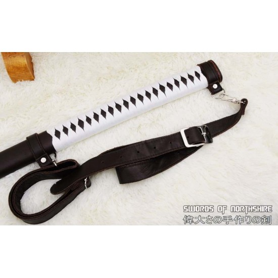 The Walking Dead Hand Forged Folded Steel Fully Functional Michonne Katana