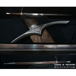 Glamdring Sword The Hobbit Gandalf Hand Forged Folded 1095 Steel Straight Blade Broadsword