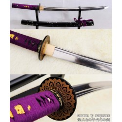 Hand Forged Folded Steel Blade Samurai Wakizashi Sword