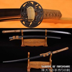 Hand Forged 1060 High Carbon Steel Blade Full Tang Samurai Warrior Katana Sword