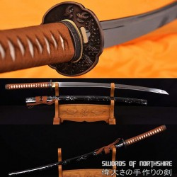 Hand Forged 1060 High Carbon Steel Blade Iaito Samurai Umidori Katana Sword