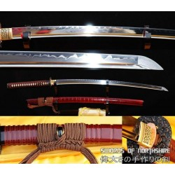 1095 High Carbon Steel Clay Tempered Samurai Katana Sword