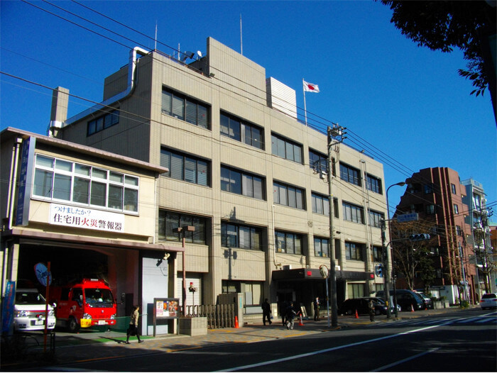 Modern picture of Mejiro police station