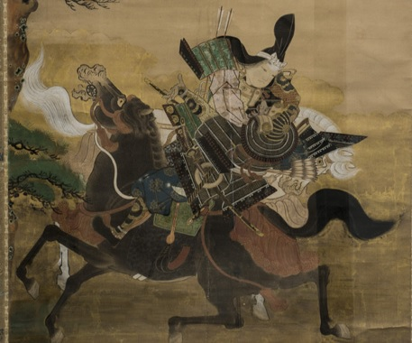 tomoe gozen riding into battle