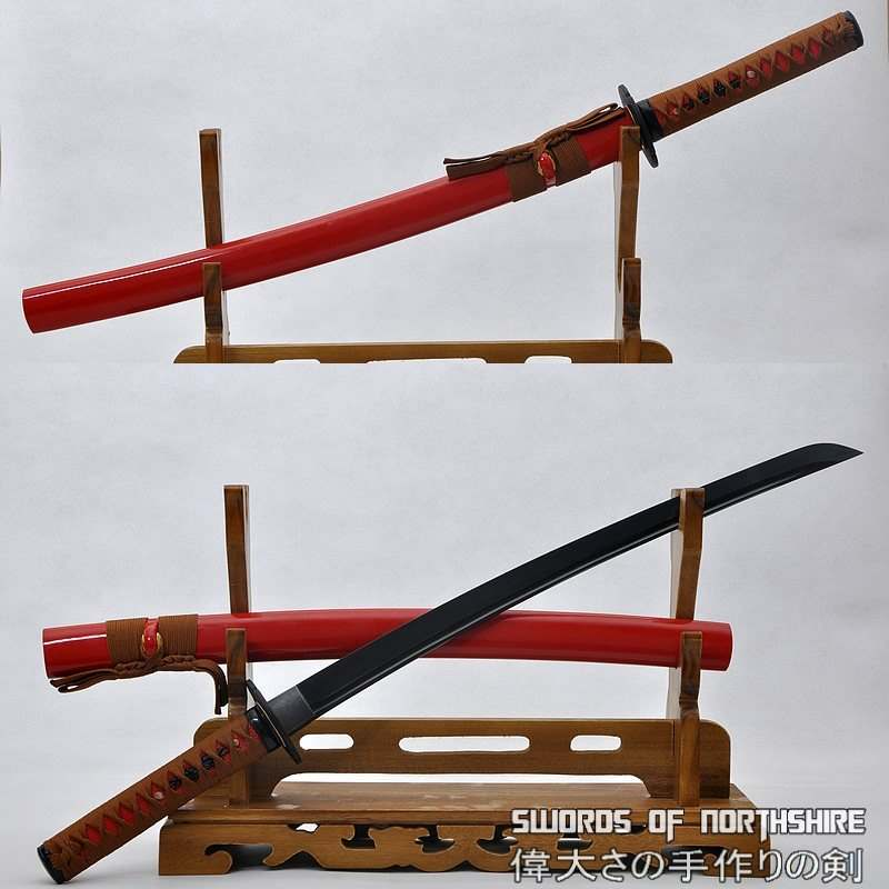 battle ready samurai sword
