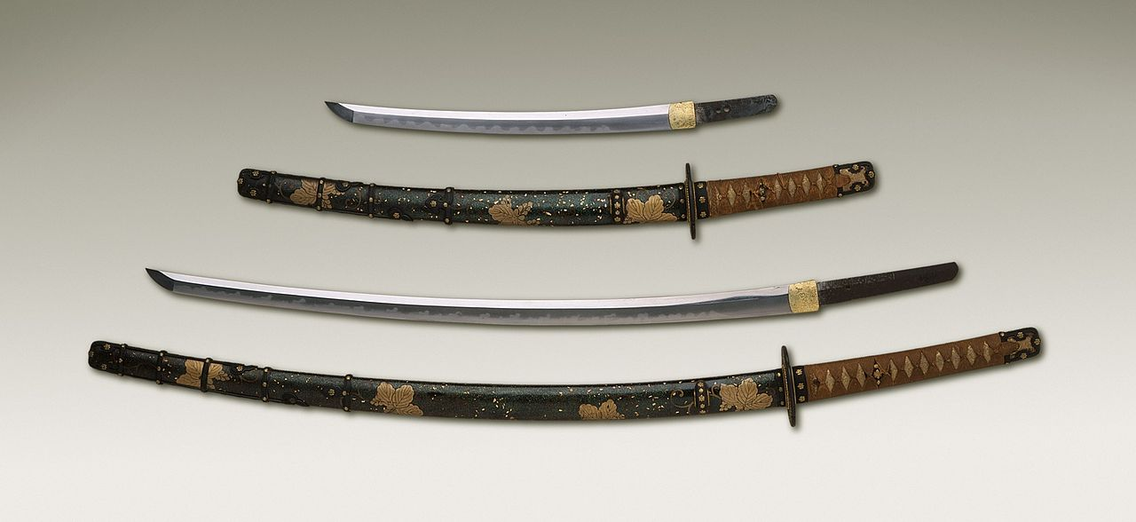 katana sword and scabbard